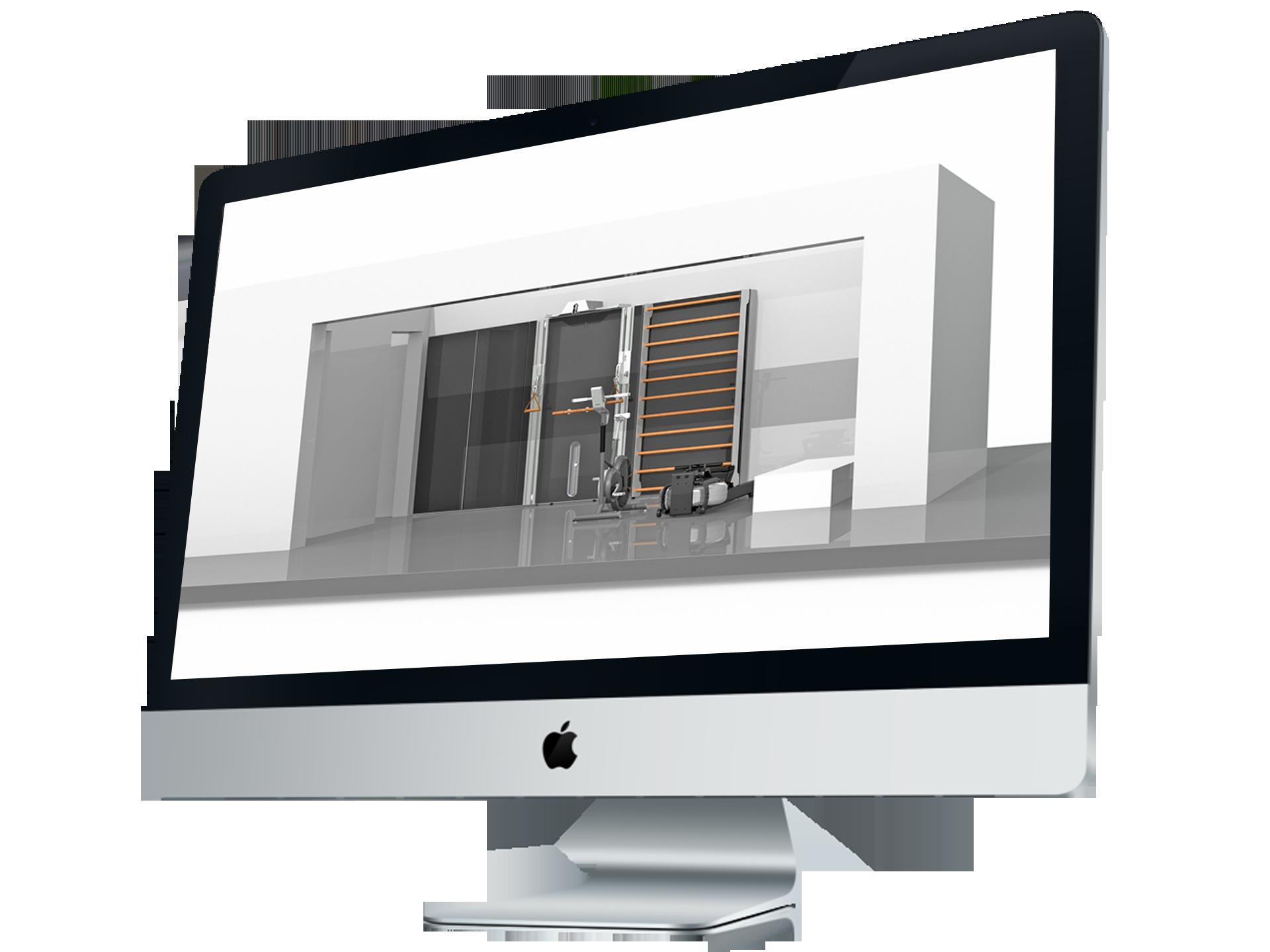 STIL-FIT 3D Zeichnung Homegym